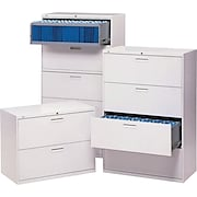 """HON® 500 Series 36"""" - Wide 2, 4 and 5 Drawer Lateral File/Storage Cabinets"""