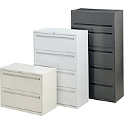 """HON® Brigade™ 700 Series 42"""" - Wide 2, 3, 4 and 5 Drawer Lateral File / Storage Cabinets"""