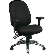 Office Star™ Pro-Line II™ Fabric Ergonomic High-Back Task Chairs
