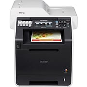 Brother® Refurbished MFC-9970CDW Color Laser All-in-One Printer