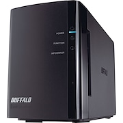 Buffalo Technology LS-WX2.0TL/R1 LinkStation Duo 2TB (2 x 1TB) 2-Bay NAS Drive